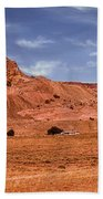 Navajo Nation Series Along Arizona Highways Bath Towel