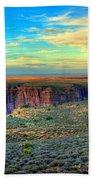 Navajo Sunset Bath Towel