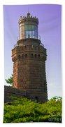 Navesink Twin Lights Lighthouse Bath Towel