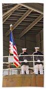 Navy Men Bath Towel