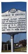 Nc-a54 George W. Brooks Bath Towel