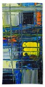 Near The Sunrise - Abstract Original Painting - Abwgc1 Bath Towel