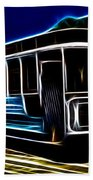 Neon Cable Car Bath Towel