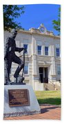 Ness County Courthouse In Kansas Bath Towel