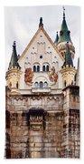 Neuschwanstein Castle Bath Towel