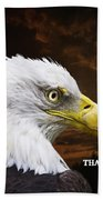 Never Forget - Memorial Day Hand Towel