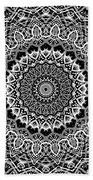 New Abstract Plaid Kaleidoscope Bath Towel