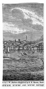 New Bedford, 1839 Hand Towel