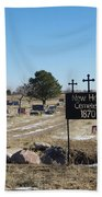 New Hope Cemetery Bath Towel