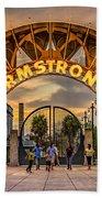 New Orleans Louis Armstrong Park  2 Bath Towel