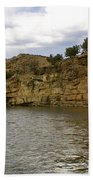 New Photographic Art Print For Sale Banks Of The Rio Grande New Mexico Bath Towel