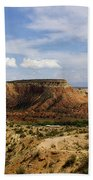 Ghost Ranch Landscape New Mexico 12 Bath Towel