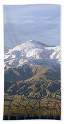 New Photographic Art Print For Sale Palm Springs Wind Farm Landscape Bath Towel