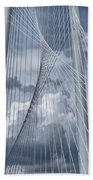 New Skyline Bridge Hand Towel