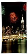 New York City Fourth Of July Hand Towel