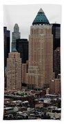 New York City Skyline 19 Bath Towel