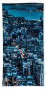 New York City Triptych Part 3 Bath Towel