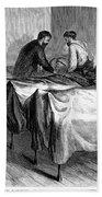 New York: Heatstroke, 1876 Bath Towel