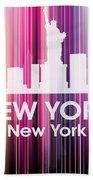 New York Ny 2 Bath Towel