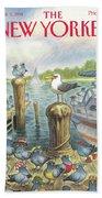 New Yorker September 5th, 1994 Bath Sheet