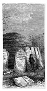 Newark Cemetery, 1876 Bath Towel
