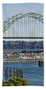Newport Bridge Bath Towel
