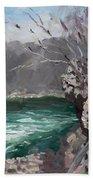 Niagara Falls Gorge Bath Towel