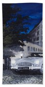 Night Drive Bath Towel