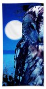 Night Owl Bath Towel