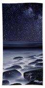 Night Shadows Bath Towel by Jorge Maia