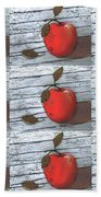 Nine Apples Bath Towel