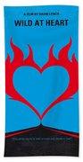 No337 My Wild At Heart Minimal Movie Poster Hand Towel