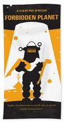 No415 My Forbidden Planet Minimal Movie Poster Hand Towel