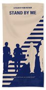 No429 My Stand By Me Minimal Movie Poster Bath Towel