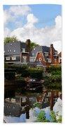 Noorder Amstelkanaal Amsterdam Bath Towel