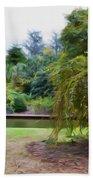Norfolk Botanical Gardens Canal Bath Towel