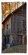 North Carolina Grist Mill Photo Bath Towel