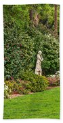 North Vista - Spring Flower Blooms At The North Vista Lawn Of The Huntington Library. Bath Towel