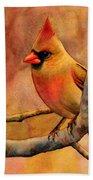 Northern Cardinal II Hand Towel