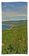 Northern Road Through Cape Breton Highlands Np-ns Bath Towel