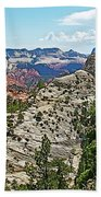 Northgate Peaks Trail From Kolob Terrace Road In Zion National Park-utah Bath Towel