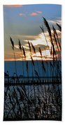 Ocean City Sunset At Northside Park Bath Towel