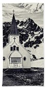 Norwegian Lutheran Church Grytviken Bath Towel