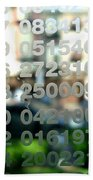 Not Just Numbers Bath Towel
