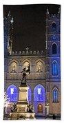 Notre-dame Basilica Of Montreal Bath Towel
