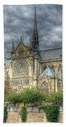 Notre Dame Bath Towel