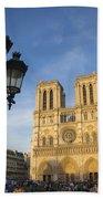 Notre Dame Tourists Bath Towel