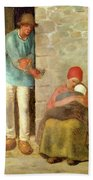 Nourishment, 1858 Bath Towel