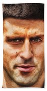 Novak Djokovic Bath Towel