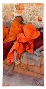 Novice Buddhist Monks Bath Towel